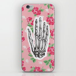 Hand bones iPhone Skin