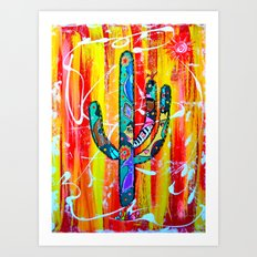 TUCSON SKY Art Print