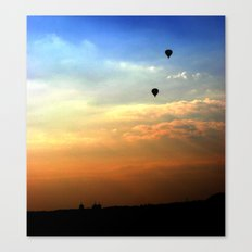Out of the smog Canvas Print
