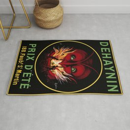 1912 Dehaynin by Leonetto Cappielo Advertising Print Rug