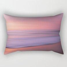 Soft Blushing Sky Rectangular Pillow