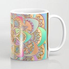 Bohemian Festival Lotus Mandala Coffee Mug