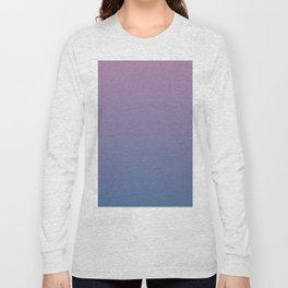 Gradient Dawn Pink Purple Blue Long Sleeve T-shirt