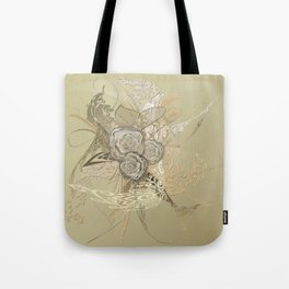 50 Shades of lace Gold Gold Tote Bag