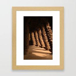 Park Guell Barcelona Framed Art Print