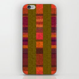 """Colorful Autumn Field"" iPhone Skin"