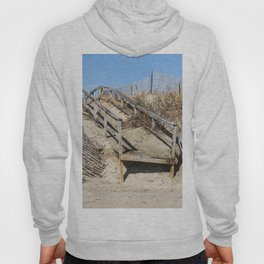 Old Wooden Board Walk Hoody