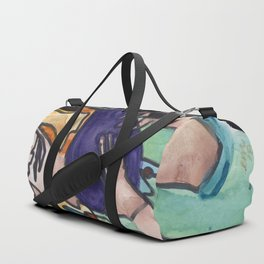 Karen Sure Loves Eggplants Duffle Bag
