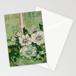 See Green Stationery Cards