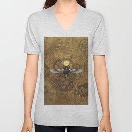 Egyptian Steampunk Unisex V-Neck