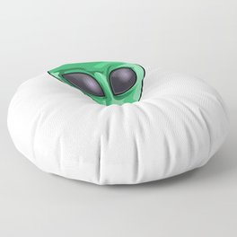Give Me Space UFO Extraterrestrial Floor Pillow