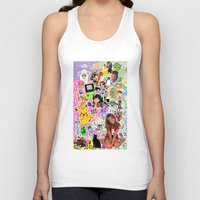 90s Tank Tops featuring 90s, childhood. by eriicms