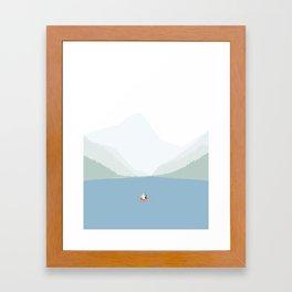 KANO SEJLADS Framed Art Print