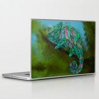 chameleon Laptop & iPad Skins featuring Chameleon by Ben Geiger