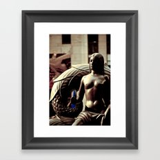 Rockefeller Beauty Framed Art Print