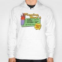 simpsons Hoodies featuring The Simpsons: Flaming Moe by dutyfreak