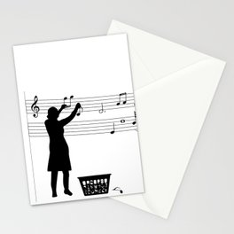 Making music Stationery Cards
