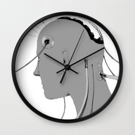 Cybernetic Coma Wall Clock