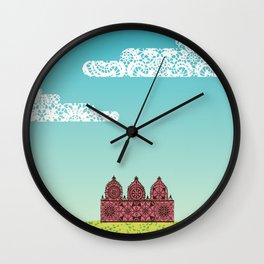 Chantily Castle I Wall Clock