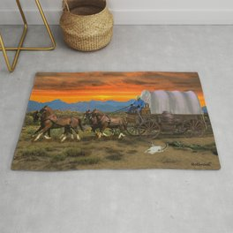 WESTWARD BOUND Rug