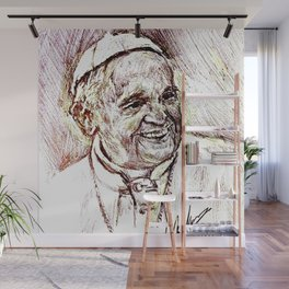 POPE FRANCIS Wall Mural
