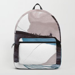 abstract painting VIII Backpack