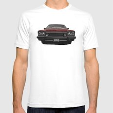 Buick MEDIUM White Mens Fitted Tee