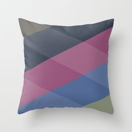 Late Summer Squaredance Throw Pillow