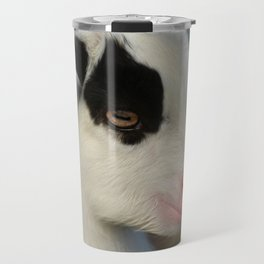 Baby Goat Portrait Travel Mug