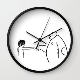 Fistbump! Wall Clock