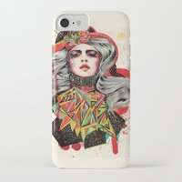 woman iPhone & iPod Cases featuring Woman by Felicia Cirstea