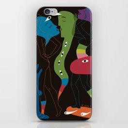 Saturday Night Shenanigans iPhone Skin