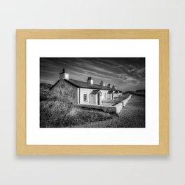 Pilot Cottages  Framed Art Print