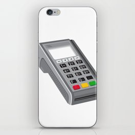 Point of Sale POS Terminal Retro iPhone Skin