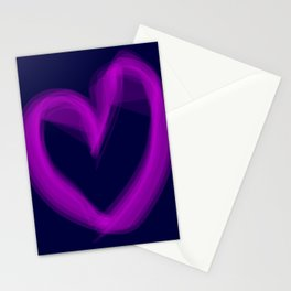 Shape Of Love Stationery Cards