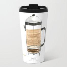 French Press Coffee Travel Mug