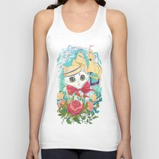 Sailor Kitty Unisex Tank Top