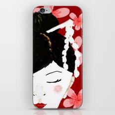 Japanese Beauty iPhone & iPod Skin