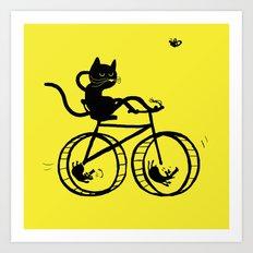Slaved mouses Art Print