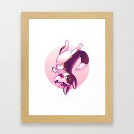 Belly Rubs, Please! Framed Art Print