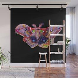 Glowy Moth Wall Mural