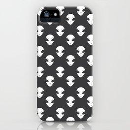 a little alien iPhone Case