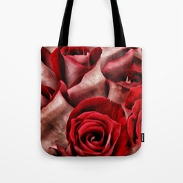 Velvet Roses Tote Bag