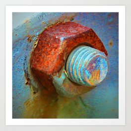 Nut and Bolt Art Print