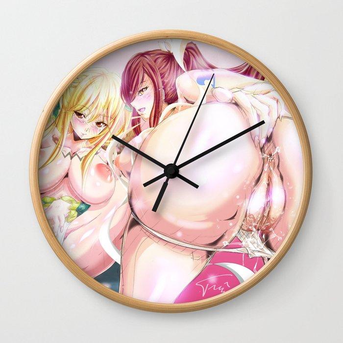 Dynamic Duo Wall Clock