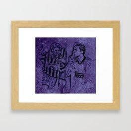 Del Does Real Raul Framed Art Print