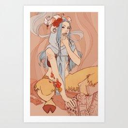 Djinn Art Print