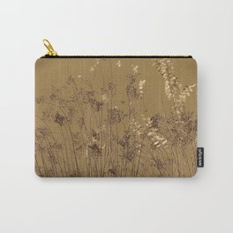 Thin Branches Sepia Carry-All Pouch