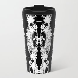 Black & White: Heather and Crystal Collection Travel Mug