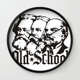 Old School Communism Wall Clock